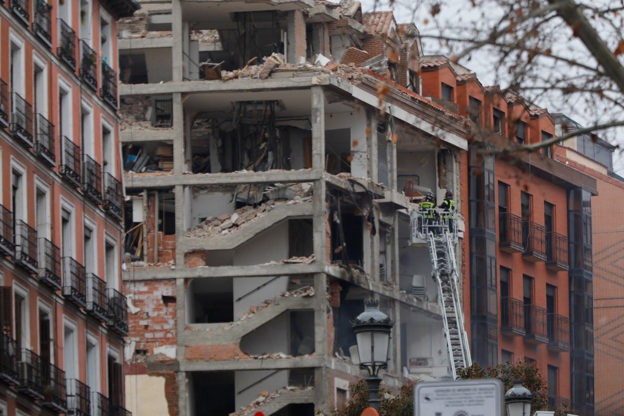 Explozie puternică în Madrid. Cel puţin doi morţi şi numeroşi răniţi